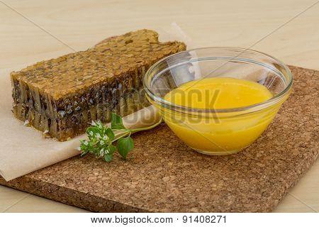 Honey With Comb
