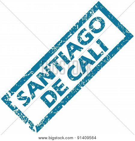 Santiago de Cali rubber stamp