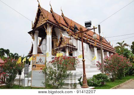Wat Suwan Daram Temple, Ayutthaya, Thailand