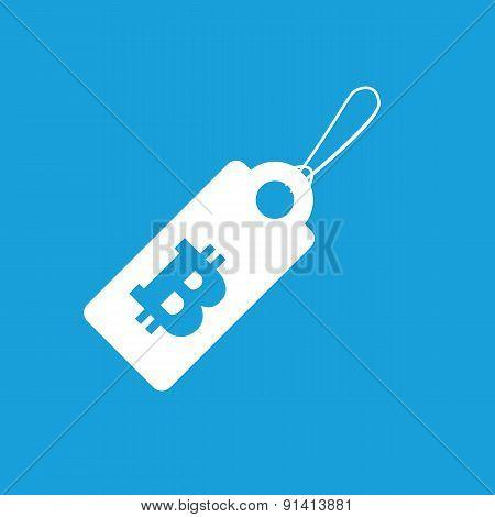 Bitcoin price icon