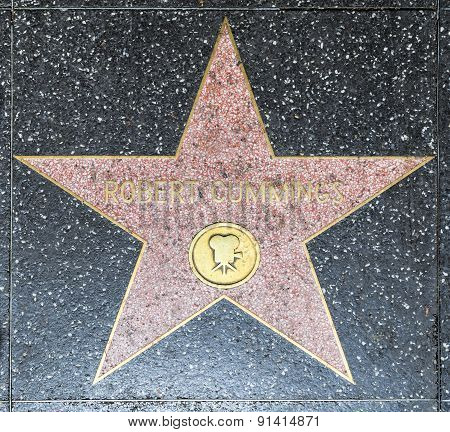 Robert Cumming's Star On Hollywood Walk Of Fame