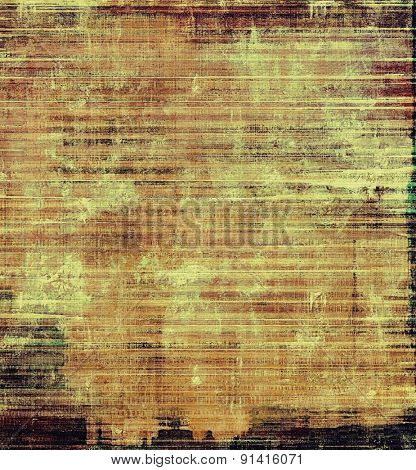 Aged grunge texture. With different color patterns: yellow (beige); brown; gray; black