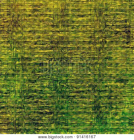 Aged grunge texture. With different color patterns: yellow (beige); brown; green