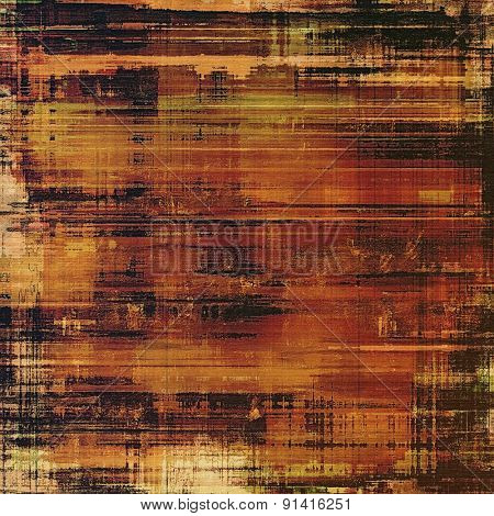 Old background or texture. With different color patterns: yellow (beige); brown; black