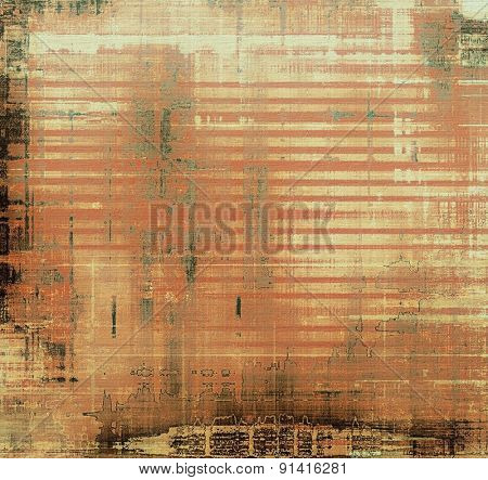 Old retro vintage texture. With different color patterns: yellow (beige); brown; gray; black