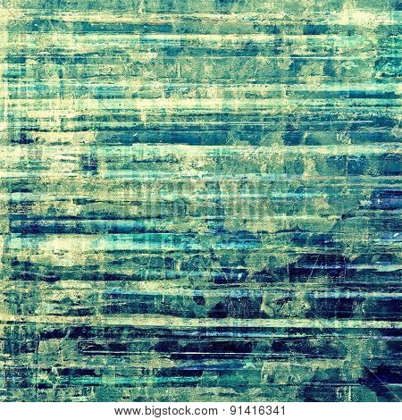 Grunge background with vintage and retro design elements. With different color patterns: yellow (beige); blue; green; cyan