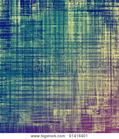 Designed grunge texture or background. With different color patterns: yellow (beige); purple (violet); blue; cyan