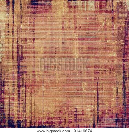 Grunge background with space for text or image. With different color patterns: yellow (beige); brown; purple (violet); pink