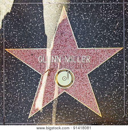 Glenn Millers Star On Hollywood Walk Of Fame