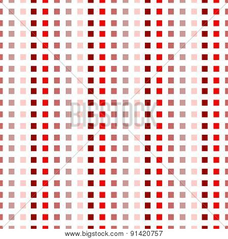 squares - red and white