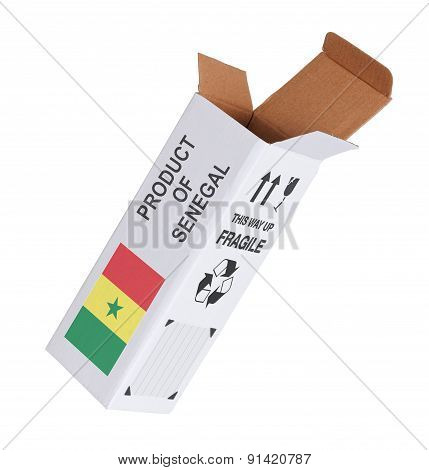 Concept Of Export - Product Of Senegal