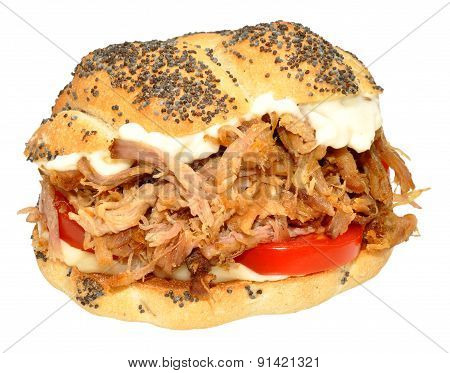 Pulled Pork Sandwich Roll