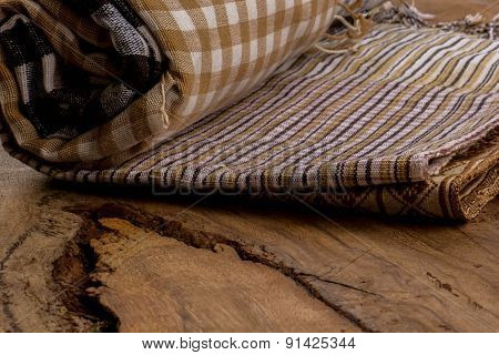 Cotton, Natural Dyes, Wood Floors, Surfaces, Cotton.