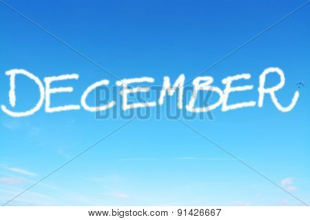 December Written In The Sky