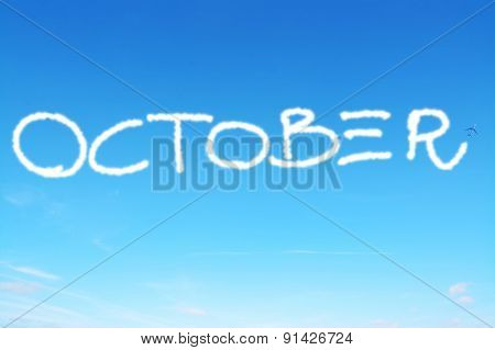 October Written In The Sky