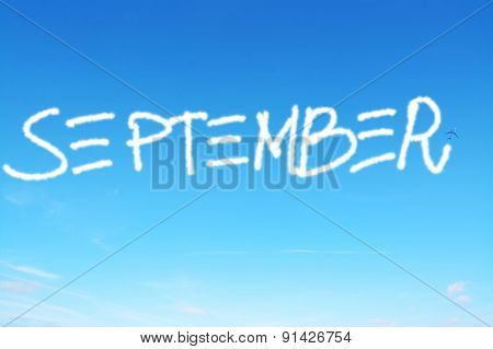 September Written In The Sky