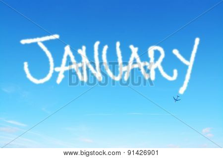 January Written In The Sky