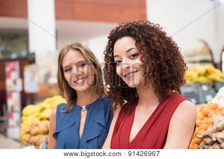 Women At Greengrocer