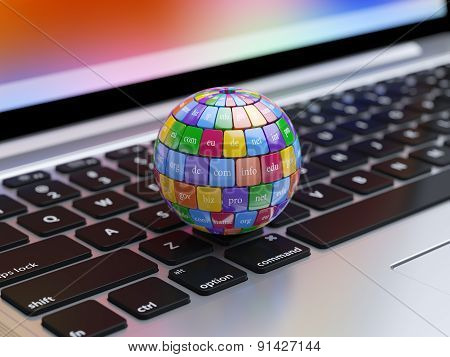 Global Internet Communication Creative Abstract Internet Pc Technology