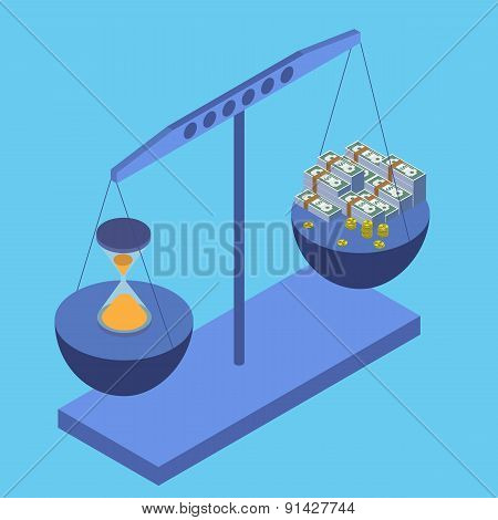 Business concept Vector illustration flat style
