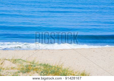 Small Waves By The Shore