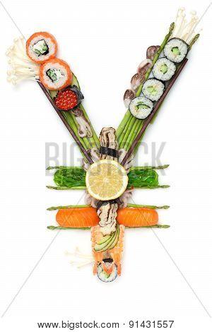 Fish Tuna By Sushi.
