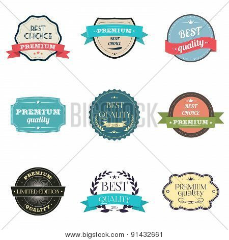 Collection of premium quality Labels.