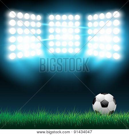 Illustration of football ball