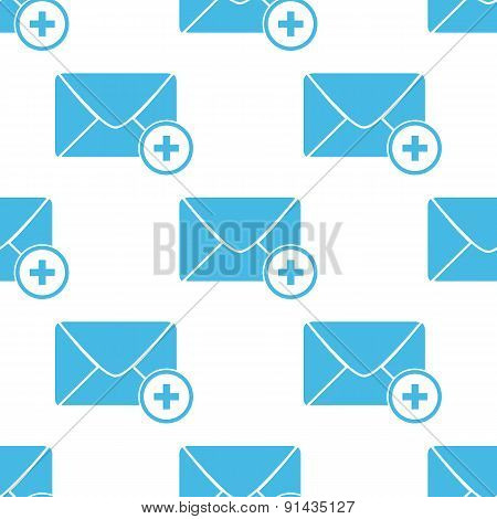 Flat add letter pattern