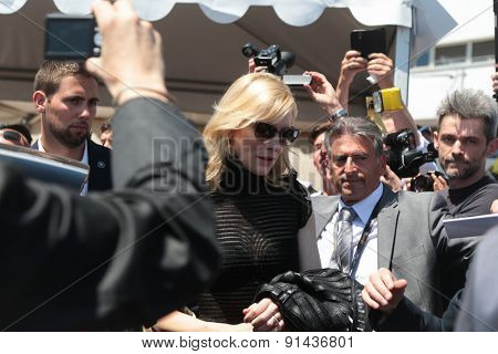 Cate Blanchett attends the 'Carol'  68th annual Cannes Film Festival on May 17, 2015 in Cannes, France.