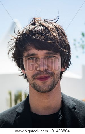 Ben Whishaw attend the 'Lobster' photo call during the 68th annual Cannes Film Festival on May 15, 2015 in Cannes, France.