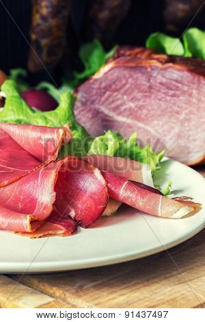 Smoked Ham With Schwarzwald Ham And Prosciutto