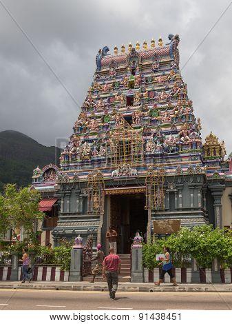 Hindu Temple Attraction Seychelles