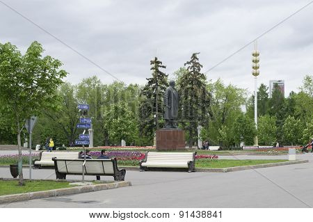 A Statue Of Lenin On VDNH (VVC)