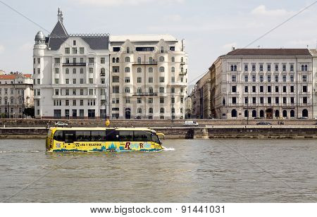 Sightseeing Amphibian Bus Danube