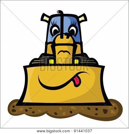 Funny Bulldozer