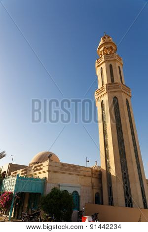 The Minaret Of Small Mosque