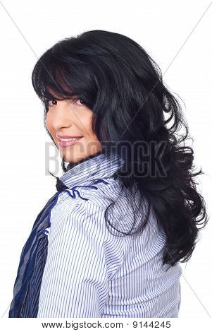 Hairstyle Brunette Woman