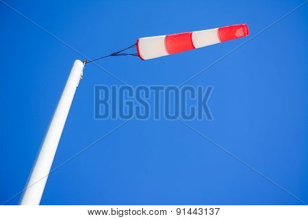 Windsock Seen From Below