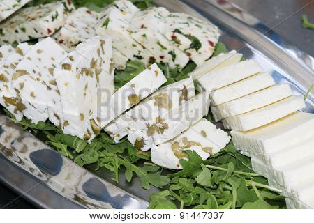 Spiced Cheeses