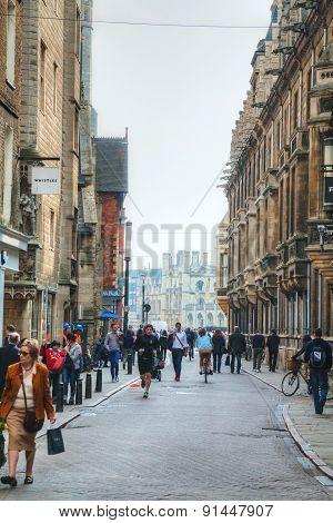Old Street Of Cambridge