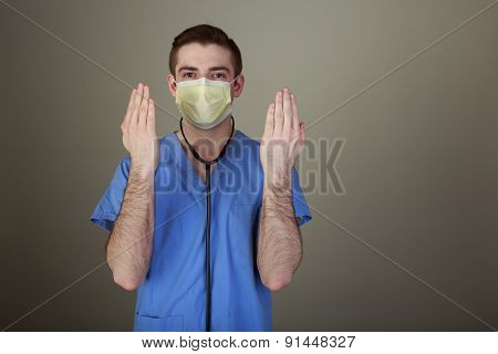 Doctor With Clean Hands