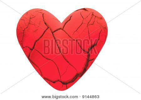 Broken Cracked Heart