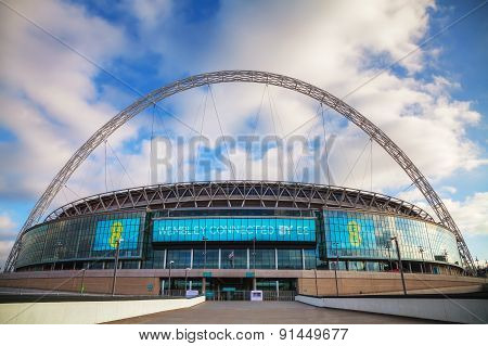 Wembley Stadium In London, Uk