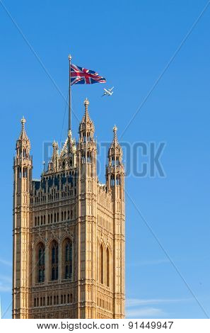 Tower Of Parliament, London