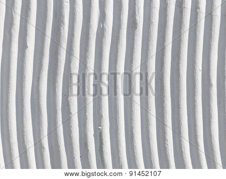 Concrete Wall With Stripes