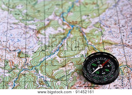 Adventure - Map And Compass.