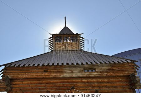 Wooden Tower Of The Burg.
