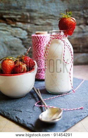 Strawbery Yogurt