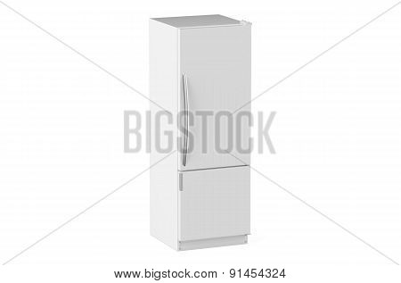 White Modern Fridge